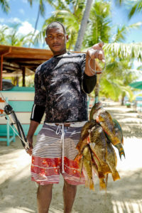 Harpoon Fishing
